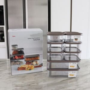 Food storage containers for fridge